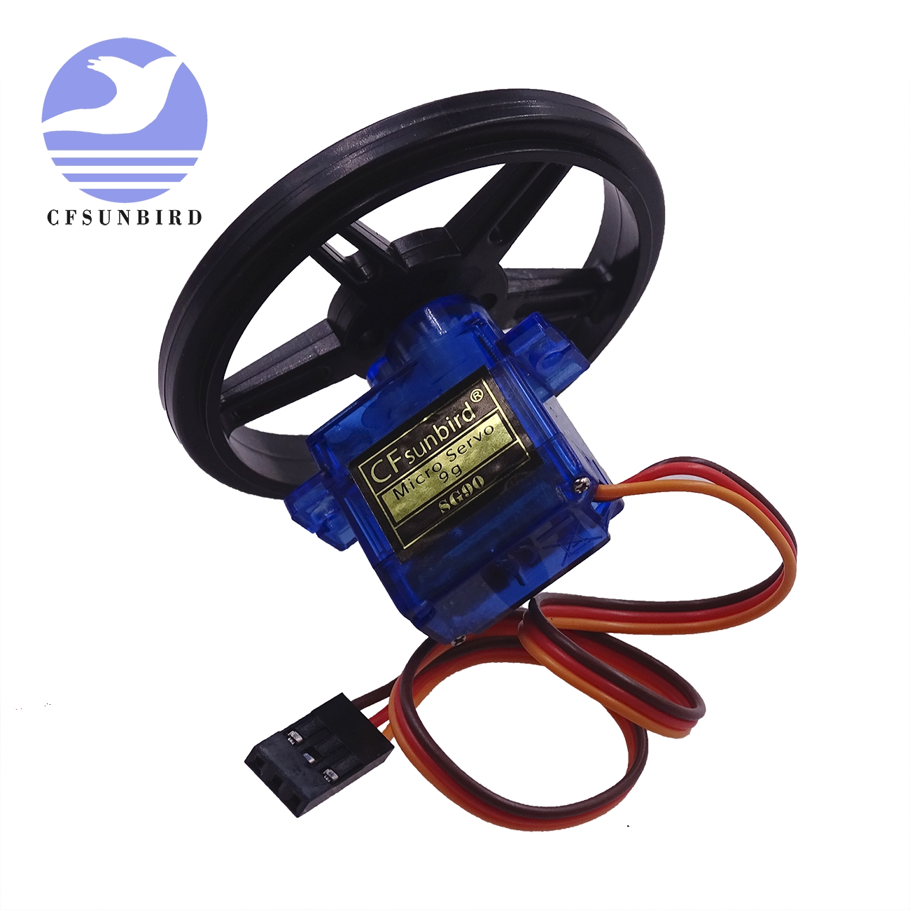 FS90R SG90 Micro Servo, 360 Degree Continuous Rotation Mini RC Servo Motor / Wheel  / ESC Servo Tester