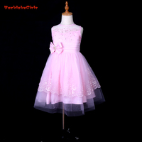 Don S Bridal Princess Embroidery And Beading Girl Organza Dresses Double Bows For Scoop Ball Gown