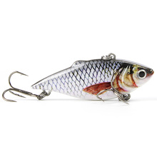 Mmlong 2.5″/8.6g New Vib Crankbait Lifelike Fishing Lure High Quality Fishing Bait Slow Sinking Hard Fish Wobbler Pesca