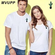 83cf98034346 ENJOY Cactus couple t shirt for husband and wife clothes men and women korean  family matching clothing ulzzang funny tee tops