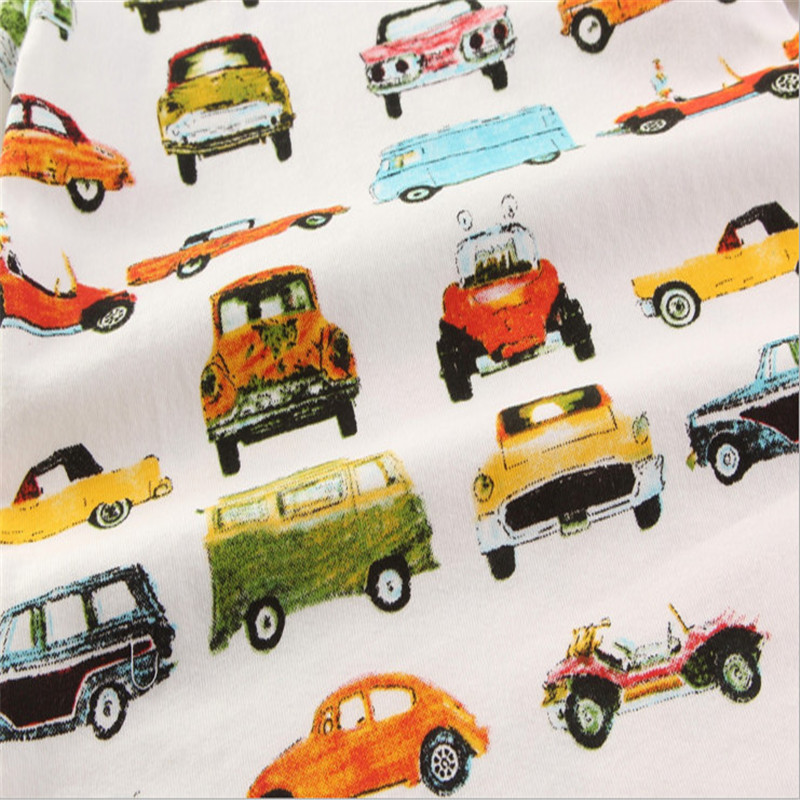 Baby boys novelty short sleeve cartoon t shirts with printed some cartoon cars kids top quality summer clothing new clothes 2017