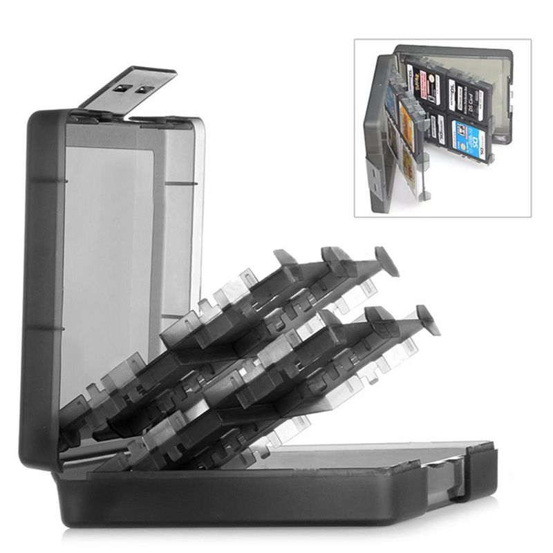1Pc Game Card Case Holder 16 in1 Storage Box For Nintendo 3DS DSi DS XL LL