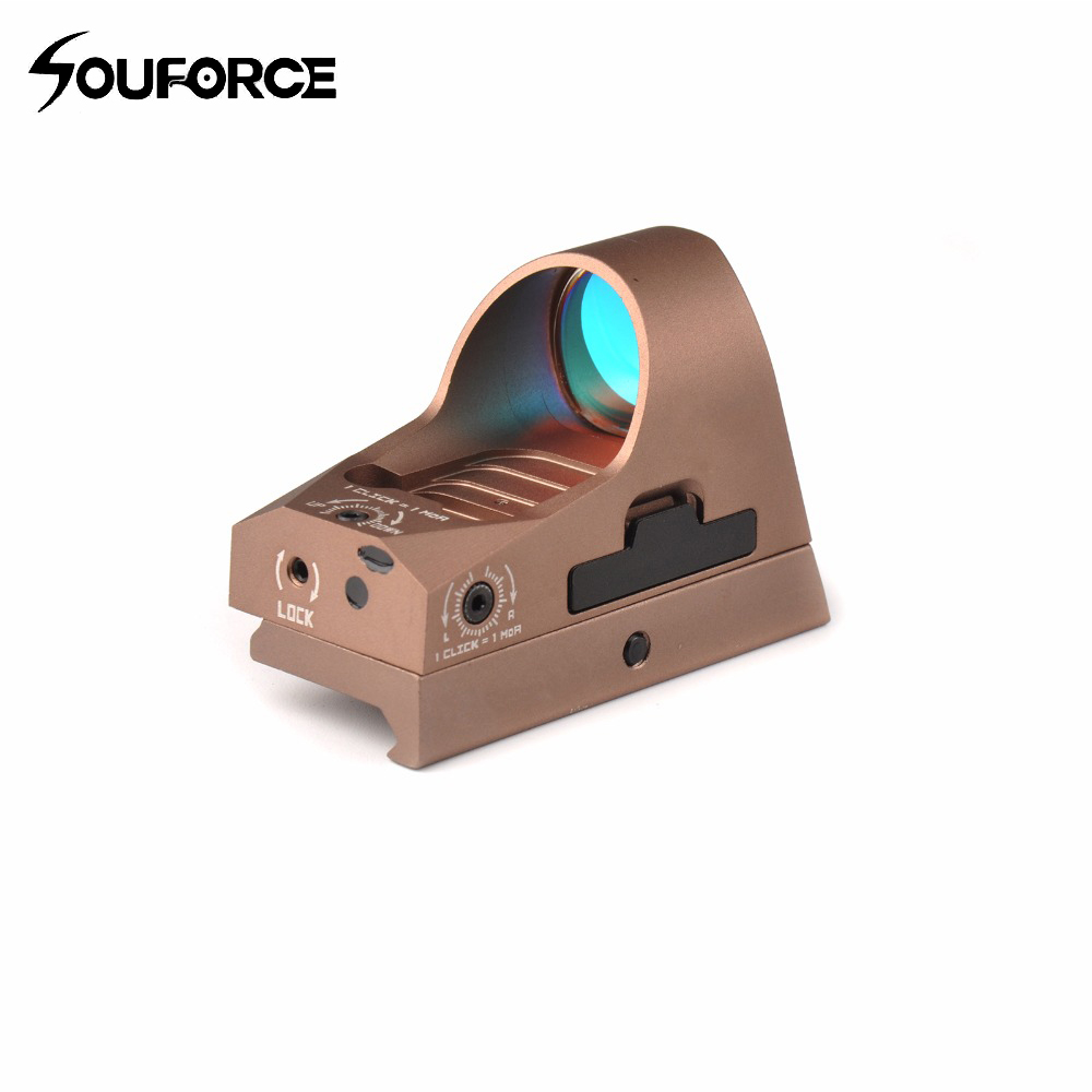 Orginal Mini Reflex Sight 3 MOA Reticle Red Dot Sight Scope with 1913 Mount and QD Mount For Airsoft Hunting Rifle greenbase 3 moa mini red dot sight reflex sight 1x25 reticle red dot scope with qd mount hunting scopes for 20mm rail base