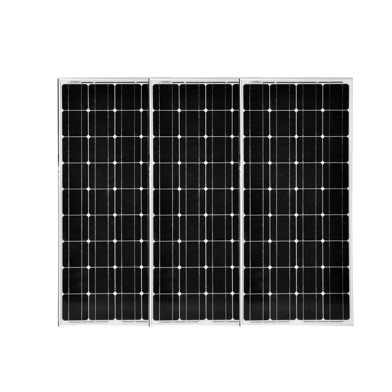 3Pcs/Lot Solar Panel Mono 100W 12V Solar Energy Panel 300w Solar System For Home Camping Marine Boat Yacht LEDS Motorhome cheaper hot sell solar energy small lighting system emergency lighting for camping boat yacht free shipping
