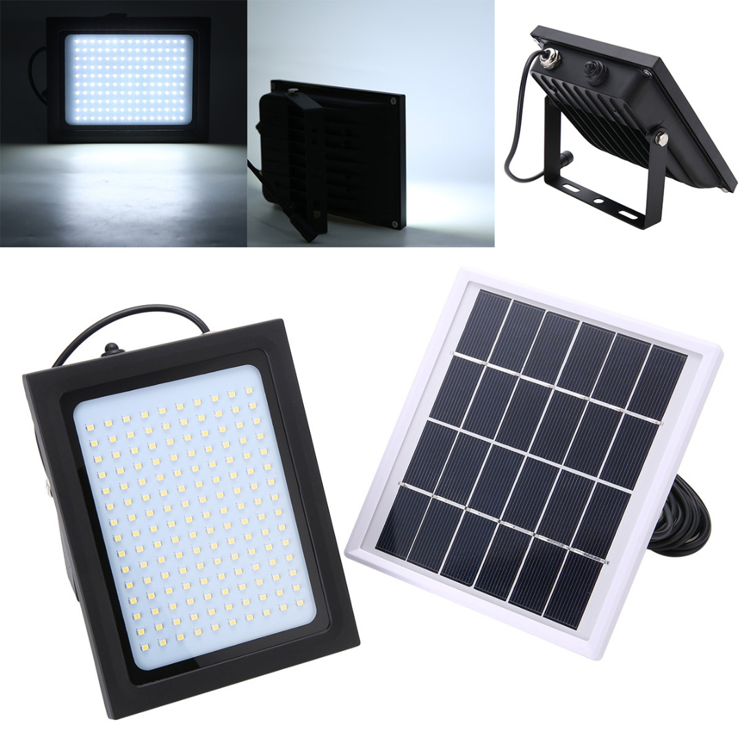 150 LED Solar FloodLight Sensor Motion Emergency Flood Light Outdoor Garden Path Wall Lamp
