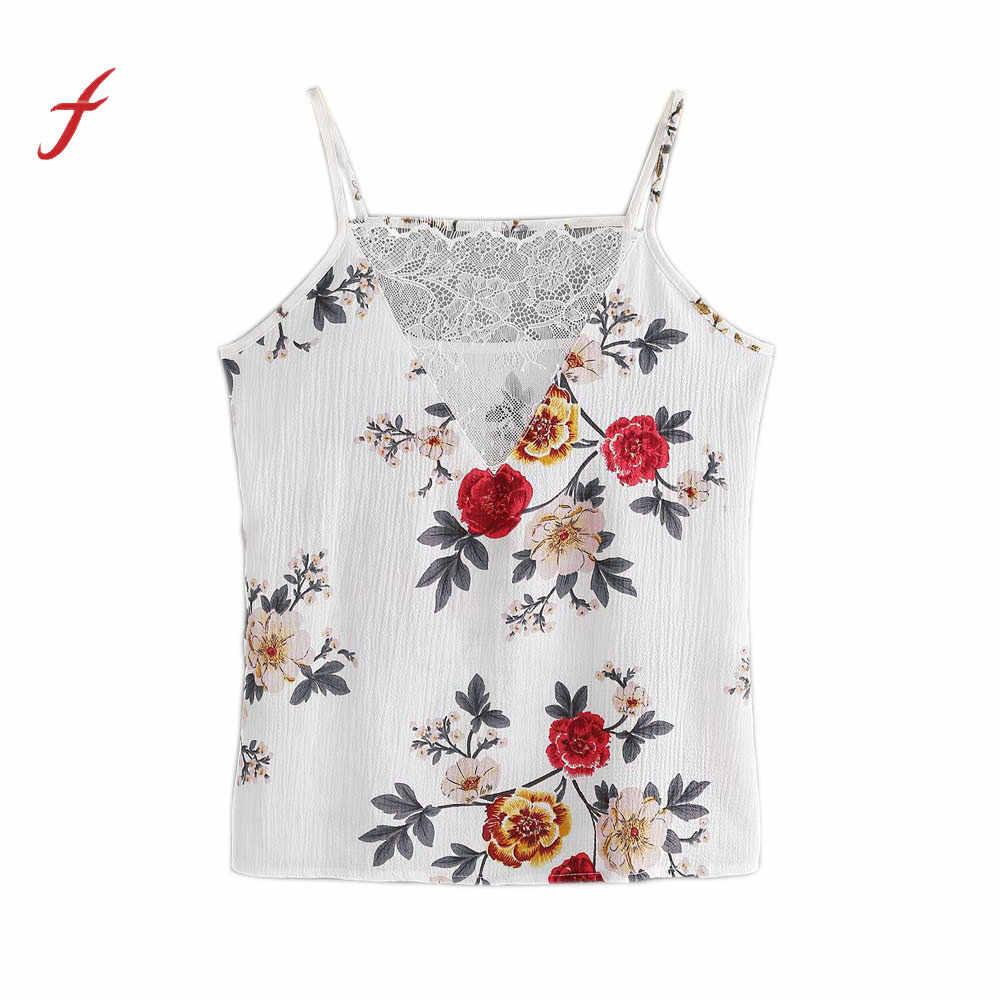 fbd95b8da5c0d Feitong Women Lace Vest Top Sleeveless Casual Tank Bt Summer Tops T-Shirt  shirt Women