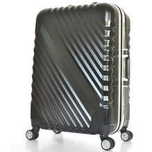YISHIDUN  Aluminum frame luggage,universal wheel trolley,scroll Suitcase,  password bag abs+PC valise koffers Travel Bags.20″ 28