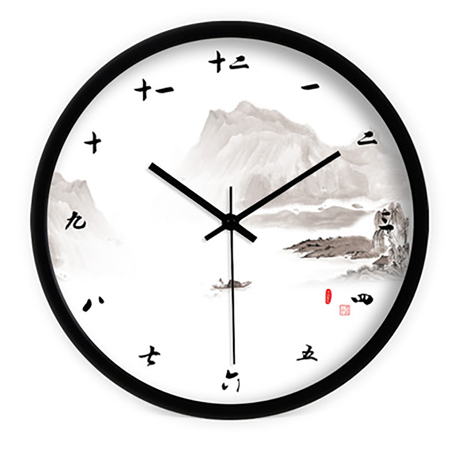 Classic Chinese Vintage Wall Clock Creative Antique Large Watch Digital Wall Clock Modern Design Living Room Decoration 50A0185Classic Chinese Vintage Wall Clock Creative Antique Large Watch Digital Wall Clock Modern Design Living Room Decoration 50A0185