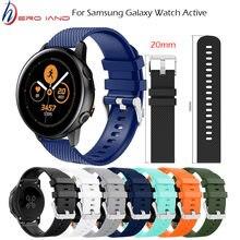 Умные аксессуары 20 мм наручный ремешок для samsung galaxy watch
