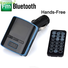High Quality  i6 BT Dual USB Charger LCD Car Kit MP3 Bluetooth FM Transmitter With Hands-Free
