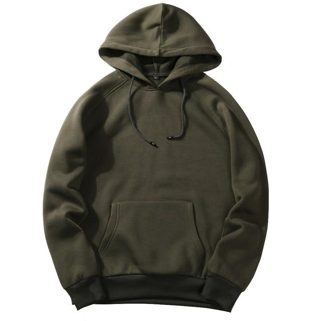 Fashion Hoodies Male Warm Fleece Coat Hooded Men Brand Hoodies Sweatshirts 14