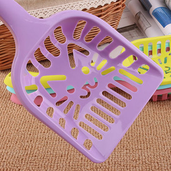 Cat Litter Shovel Pet Cleaning Tool Plastic Scoop Cat Sand Toilet Cleaning 2018ing