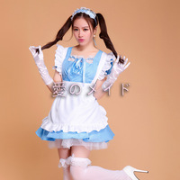 Sexy Maid Costume Sweet Gothic Lolita Dress Anime Cosplay Sissy Maid Uniform Role Play Clothing Halloween Costumes For Women F