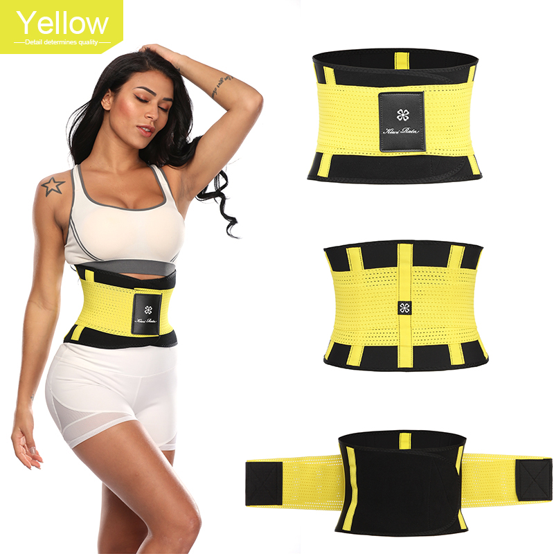 Fitness Belt Xtreme Power Thermo Body Shaper Waist Trainer Trimmer Corset Waist Belt Cincher Wrap Workout Shapewear Slimming
