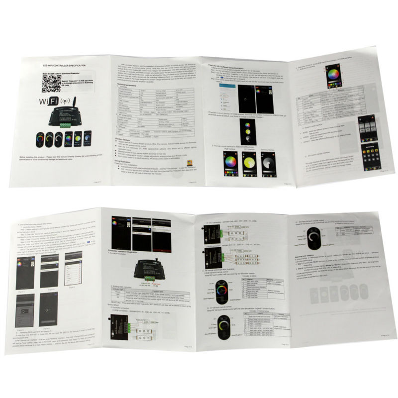 User-Manual Wifi LED Controller