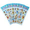 Pegatinas de burbuja de 5 Hojas/Set Mixta Winnie 3D Pegatinas de Espuma De Dibujos Animados Para Niños Engomadas Lindas Puffy Niños DIY Juguetes de Cumpleaños regalo