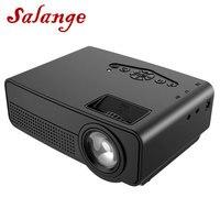 Salange UC38 Mini HDMI USB AV SD. 700 люмен Домашний кинотеатр, детское образование, портативный проектор для родителей и детей с подарком