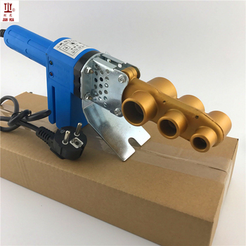 цена на Free shippng New 20-32mm 220V thermofusionadora ppr electronica Pipe Welding Machine Soldering Iron For Plastic Pipes