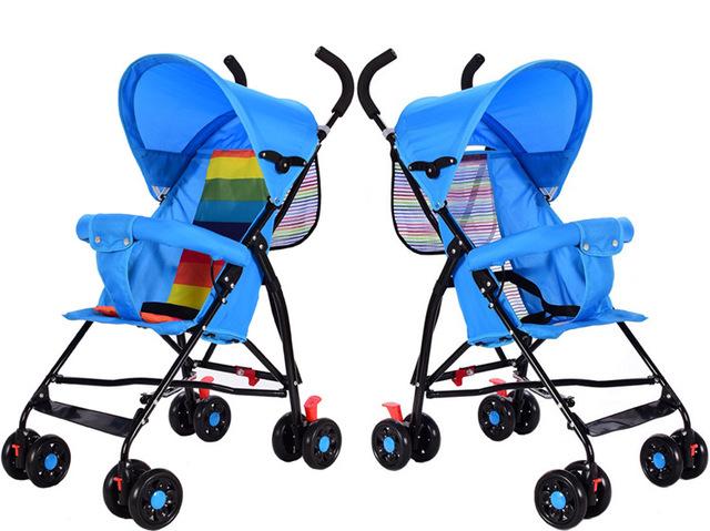 2017 Bebé Cochecito de Bebé Plegable Ligero Cochecito de Bebé Paraguas Amortiguadores Niños Trolley Puede Tomar Jane YD134