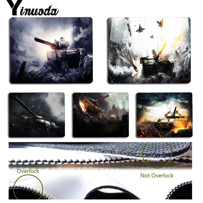 Yinuoda New Arrivals <font><b>Final</b></font> Fire Customized laptop Gaming <font><b>mouse</b></font> pad Size for 18x22cm 25x29cm Small Mousepad image