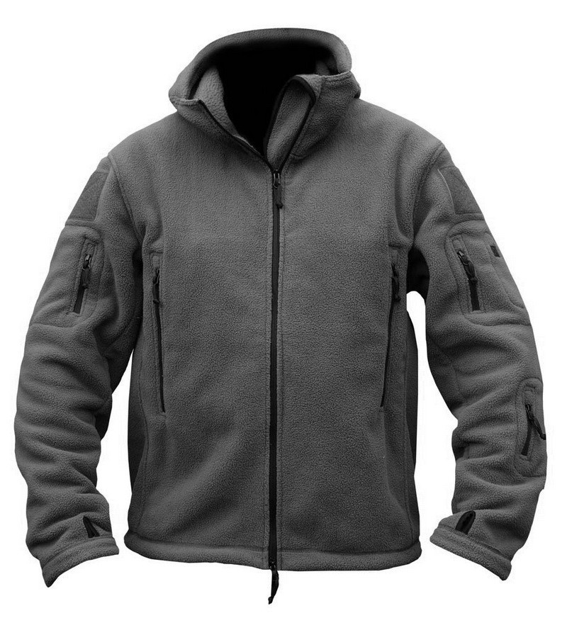 tactical jacket grey
