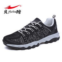 Beita Size 35-45 Lovers Running shoes for men Sneakers shoes Air cushion Sports Shoes Wedge Breathable Outdoor Walking Jogging