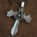 Ожерелье убийц убийцы colar pingente masculino corrente де прата masculina neckless мужчины крест s LN183