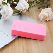 New 5600mAh USB Charging Portable External Backup Battery Charger 2*18650 Battery Power Bank Case Phone adapter For Smart Phones