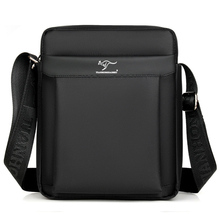 Kangaroo Luxury Brand Business Messenger Bag Men Leather Crossbody Bag Man Shoulder Bags Male Oxford Casual Small Flap For IPAD new collection krg kangaroo men bags men casual leather vintage messenger bag designer man brand small crossbody shoulder bag