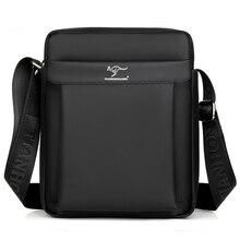 Kangaroo Luxury Brand Business Messenger Bag Men Leather Crossbody Bag Man Shoulder Bags Male Oxford Casual Small Flap For IPAD недорго, оригинальная цена