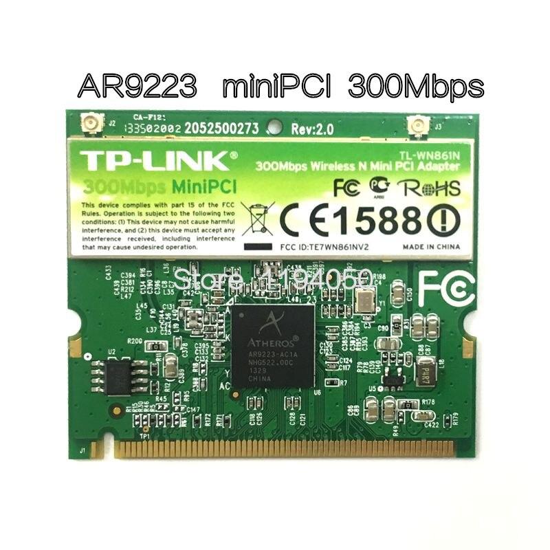 WDXUN Atheros AR9223 300 Mbps Mini PCI Wireless N WiFi Adaptateur Mini-pci WLAN Carte pour Acer Asus Dell toshiba CARTE