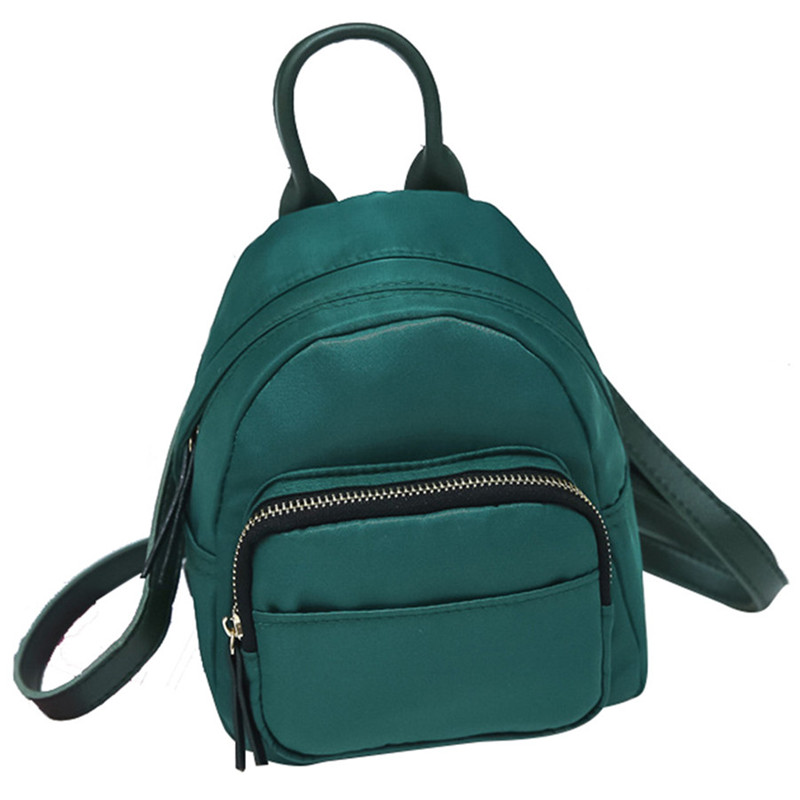New Fashion Women Nylon Mini Backpacks For Teenage Girls Shoulder Rucksack School Bag Small Backpack mochila feminina