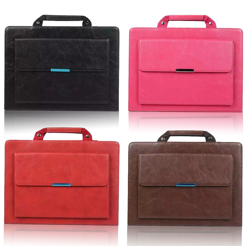 PU Leather Handbag Prortable Bag Case For iPad Air 2 ...