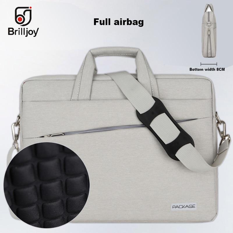 e42ffd844dc5 Brilljoy High quality briefcase Messenger Bag Laptop Handbag for 13 14 15  Inch Computer Bussiness Travel
