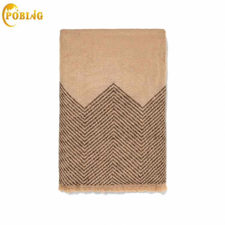 POBING Brand New Za Winter Scarf Women Geometric Cashmere Scarves Wraps Basic Acrylic Wram Shawls Female Bufandas Blanket Scarf