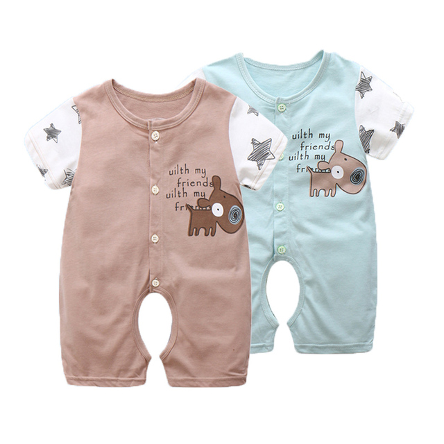 5206305efde4 Aliexpress.com   Buy Spring Baby Rompers Cotton Baby Girl Clothes ...
