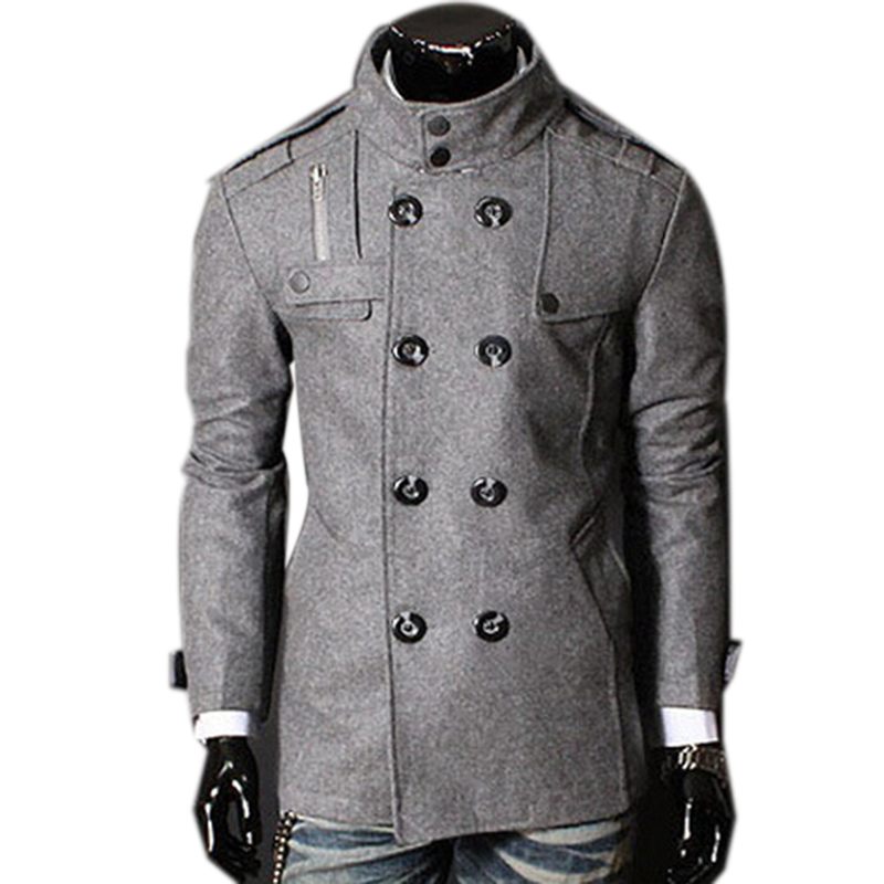 New Brand Winter Mens Jackets Coats Overcoat Fashion Mens