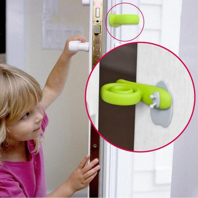 2pcs Door Lock Child Lock Baby Safety Door Lock Children