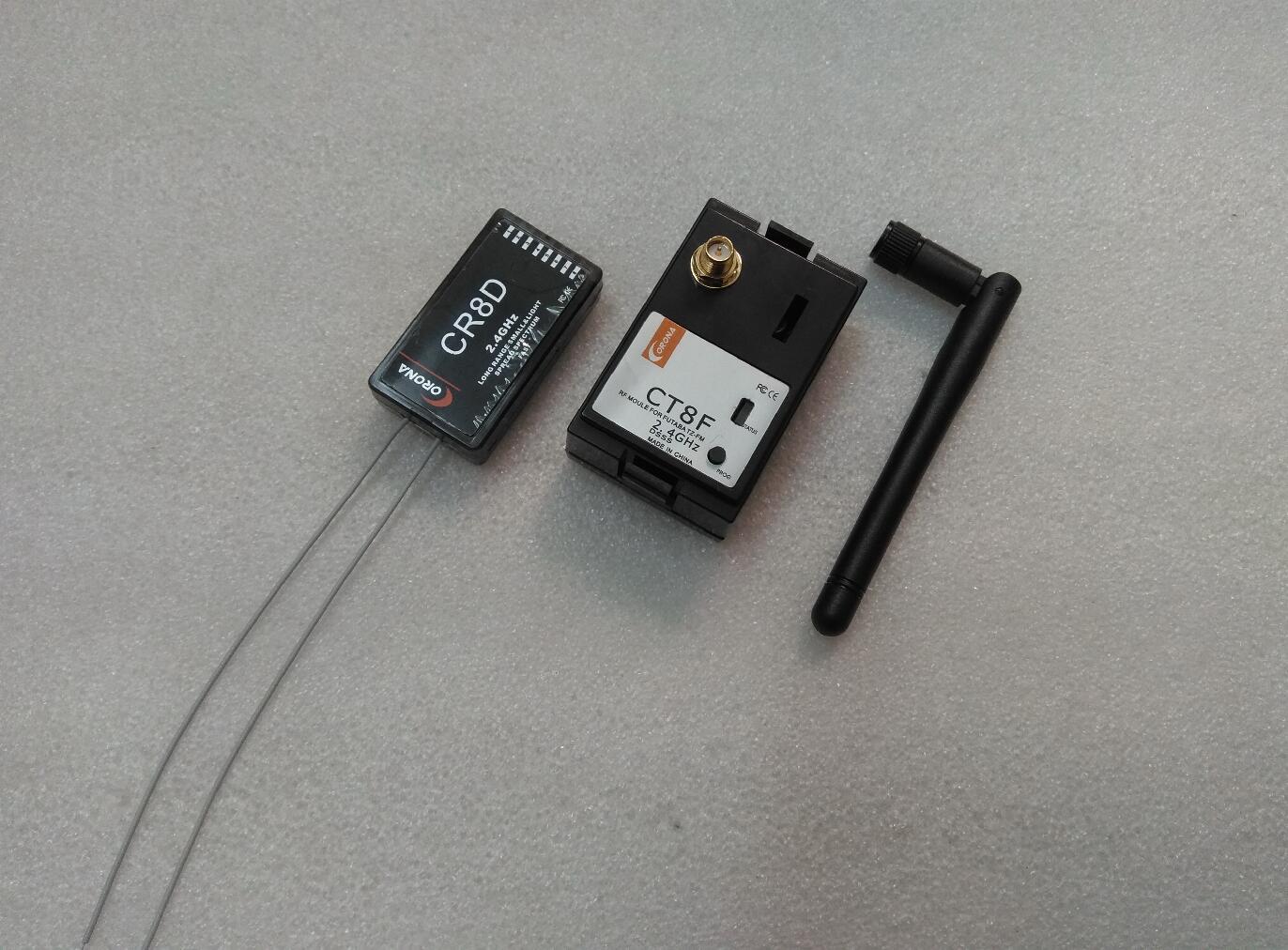 코로나 2.4 ghz 모듈 + 수신기 후타바 히텍 송신기 wfly 용 8ch lnb dsss-에서부품 & 액세서리부터 완구 & 취미 의  그룹 1
