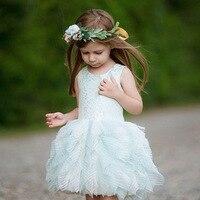 High Quality New Girls Summer Evening Dress Child kids Girls Princess Dress Baby Girl Ball Gown Party Dresses Kids Clothes CA585