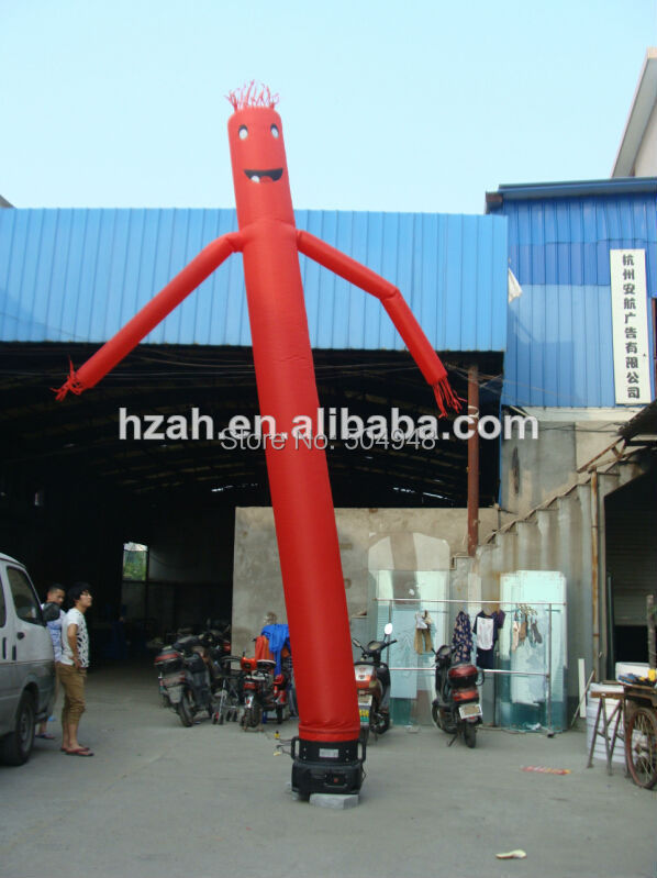 Dancing inflatable air dancer sky dancer air man inflatable sky dancing tube man ghost chef outdoor waving air dancing man for advertising celebration without fan blower