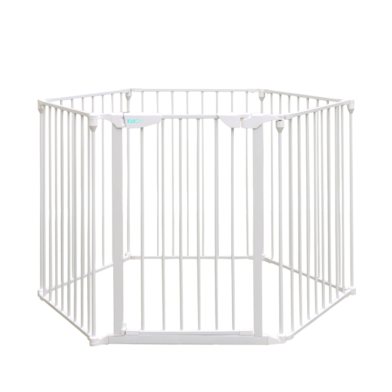 The World's Best Selling Kidgo Brand Metal Material Easy To Assemble Baby Safety Game Fence