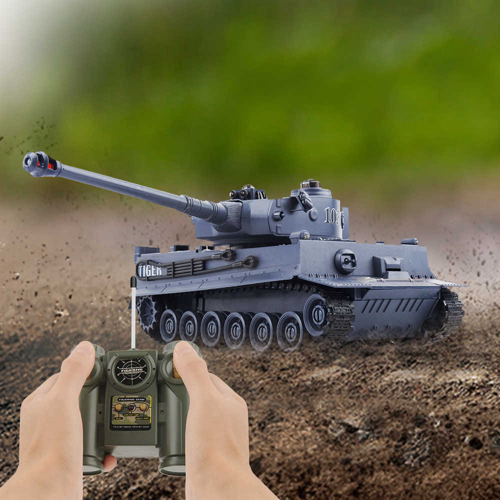 RC Tank Tiger 103 Fighting Battle Tank Remote Control Toys