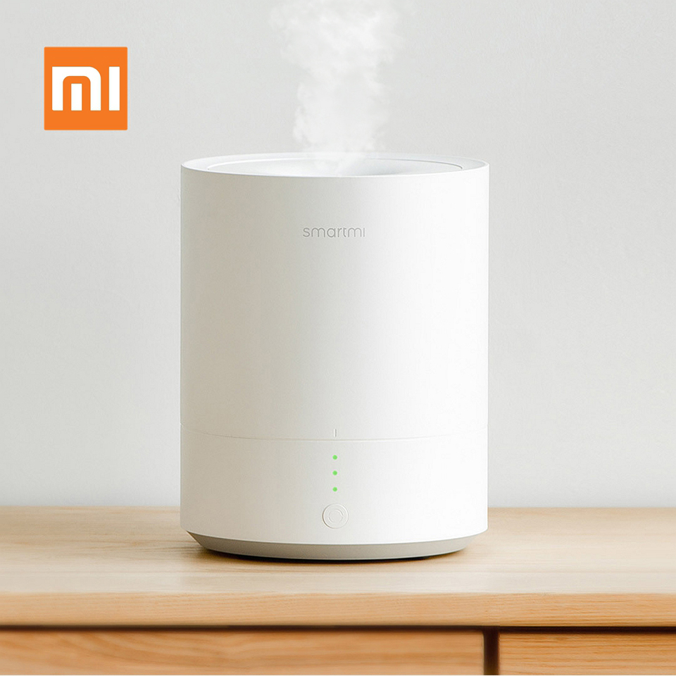 Original Xiaomi Smartmi Humidifier Tabletop Mist Humidifier 2.25L Ultrasonic Wave Air Purifying Air-conditioned Office Household