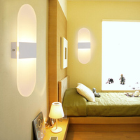 3W 6W 12W 18W Modern Led Wall Lamps Acrylic Bed Room Wall Light Living Sitting Room