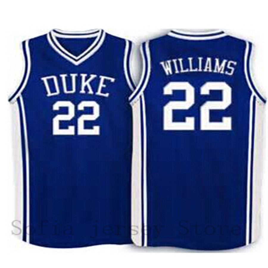 sports shoes ea745 989ee 22 Jay Williams Duke Blue Basketball Jersey blue , white,Any ...