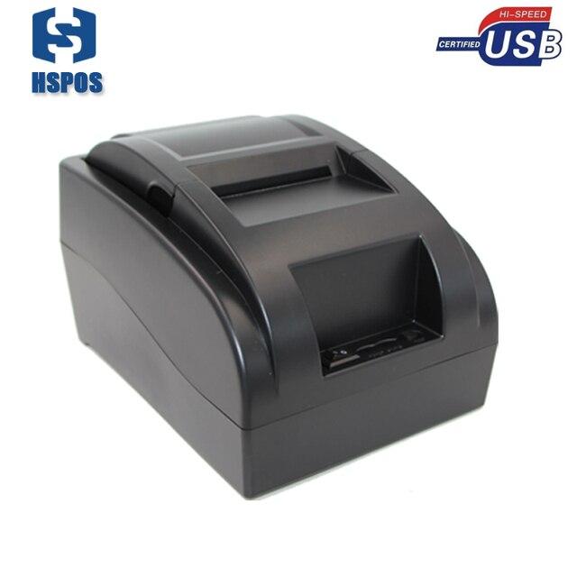 58 мм USB термопринтер с 1 рулон бумаги высокого качества поддержка нескольких языков идеальный маленький билл чековый принтер для системы POS