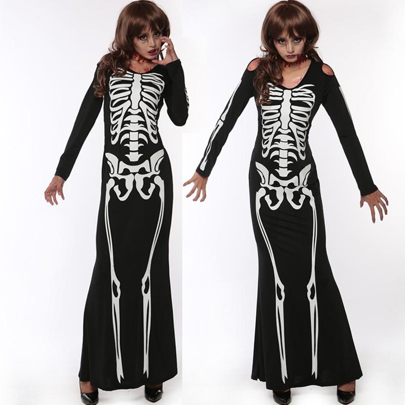 Black Skeleton dress (1)