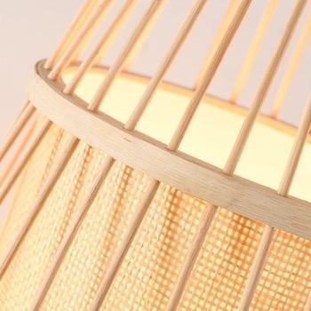 Japanse Bamboo led Vloerlamp 4