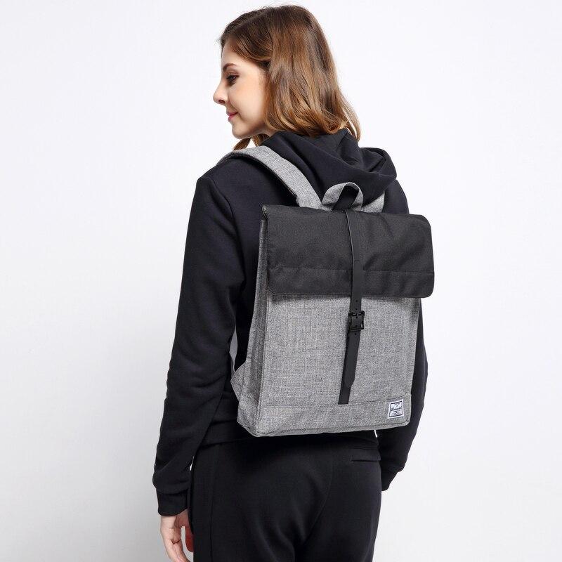 Hot schel Style Classic 14'' Inch Men Women Unisex Nylon Backpack 2016 Famous Brand Waterproof Laptop Bag Mochila Escolar